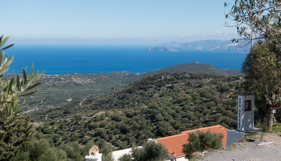 Yoga en filosofie op Kreta